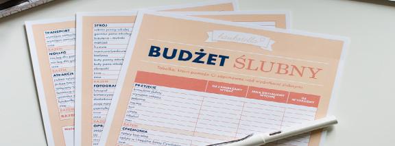 budżet ślubny