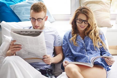 czytanie magazynów