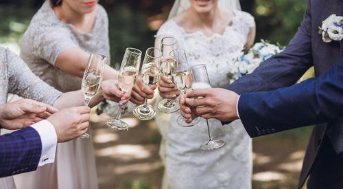 dbanie o gości weselnych