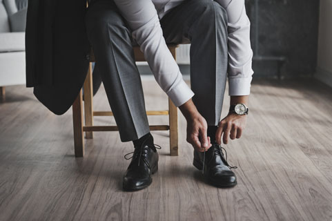 męskie buty na ślub