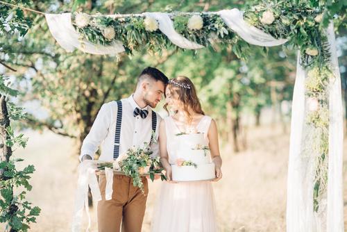 romantyczne wesele w stylu włoskim