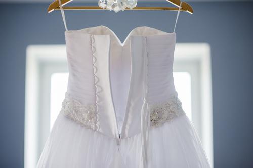 suknia ślubna do prania