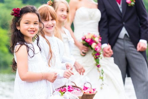 ubiór dzieci na wesele
