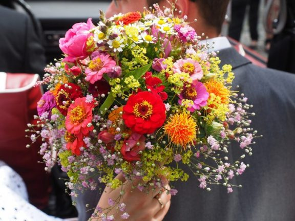 kwiaty na wesele